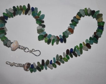 Sea Glass Explosion necklace