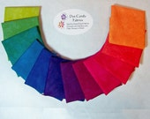Brights Hand Dyed Cottons - 12 Fat Quarters