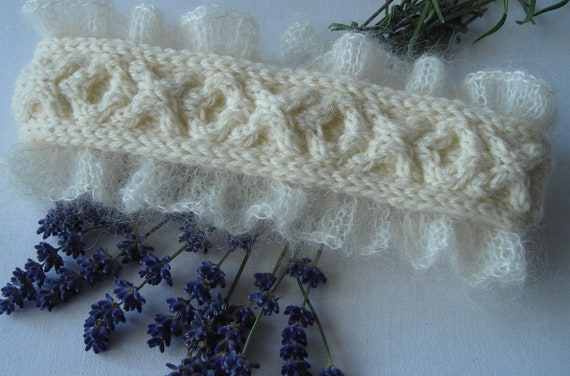 Knitted Wedding Gifts: Knitted Wedding Garters Knitting Pattern PDF By