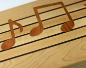 Musical Score Cutting Board music lover's made to order