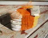 Candy corn primitive Halloween bowl fillers READY 2 SHIP