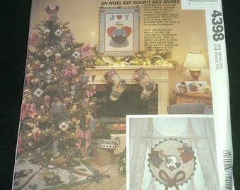 Country Christmas Angel McCalls 4398