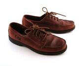 Boat Shoes Men's Vintage 1980s Leather Bass  Men's