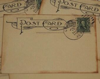 Wedding Guestbook Alternative, Wedding Wishes, Vintage Post Cards, Destination Wedding, 50