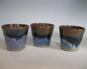 Popover cups set of three