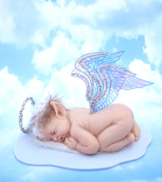 OOAK Fairy Handcrafted Polymer Clay Sleeping Baby by ...