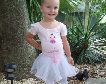 Boutique Custom Personalized Girls BALLET DANCE LEOTARD