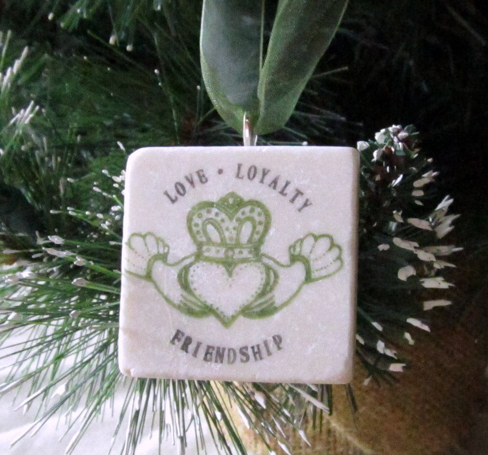 Claddagh Wedding Ornament Favor Irish Keepsake By MyLittleChick