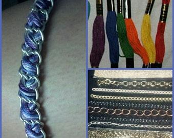 iddle woven chain bracelet