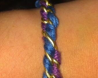 The Twist Woven Chain Bracelet