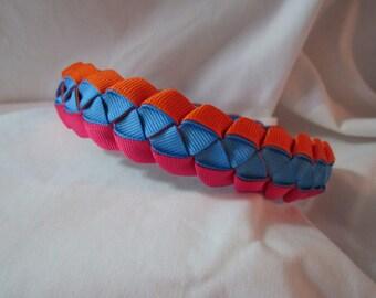 Braided Ribbon Headband for Girls