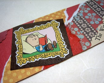 BOOKMARK - Linus Reads Oz