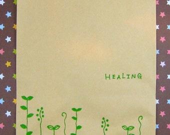 Healing Paper Bags - Green