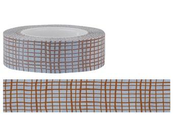 Funtape Masking Tape - Brown Mesh