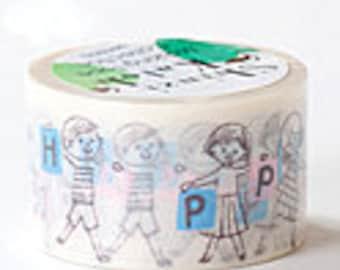 Shinzi Katoh Masking Tape - Happy Kids