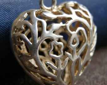 heart, vintage pendant, accessories, coolvintage, bijouterie, ornate, collectibles, gorgeous, looks great,  Dec 04