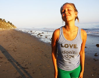 lgbt shirt, gay pride tank top, yoga tank, yoga top, meaningful tank, love tank top, yoga clothes, activewear top, workout top, gender equal