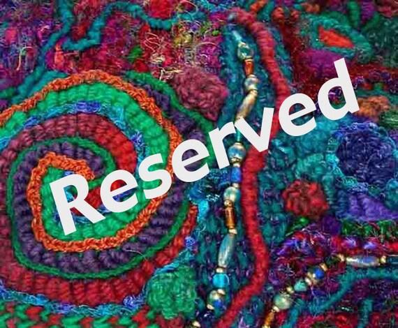 Tea Cosy OOAK Freeform Crochet