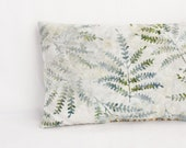 Herbal Sleep Pillow, Silver Sage Woodland Leaves, Natural Lavender Sleep Aid, Home and Living - Gardenmis