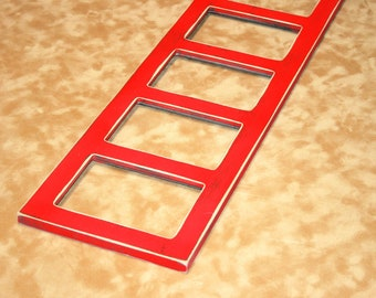 4 opening frame, 4x6 collage frame, Multi picture frame, collage photo frame, window pane frame, Multiple frame