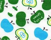 Sweet Apples Green/Blue in White -- EK-QS27602
