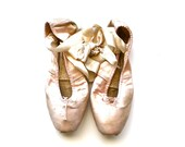 She Danced - Vintage Ballet Slippers - Vintage Ballet Shoes