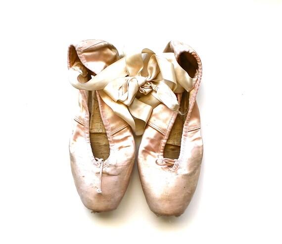 She Danced - Vintage Ballet Slippers - Vintage Ballet Shoes