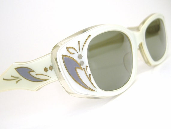 Vintage Cat Eye Sunglasses 1960s France