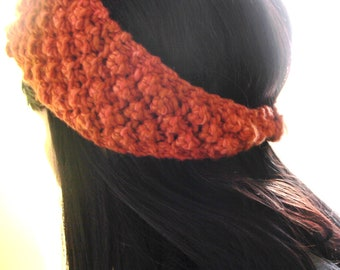 "Pattern - Cowl Headwarmer Necktie ""Smart"" Knitting Pattern"
