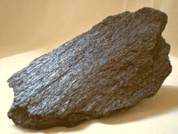 Specularite Hematite, Raw, 7 x 3 1/4 inches, Very Sparkly