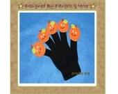 NEW - Five little Pumpkins - Finger Puppets - Teacher Resources