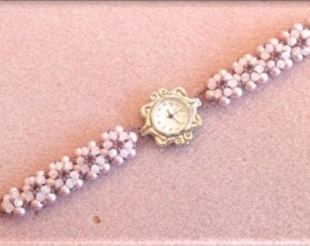 Sweet Daisy Watch Band PDF Tutorial (INSTANT DOWNLOAD)