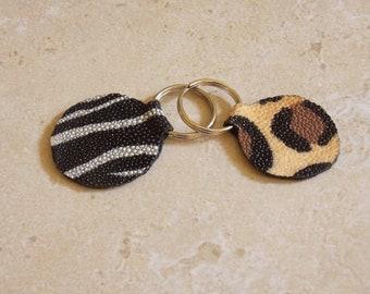 Stingray Leather Key Fob