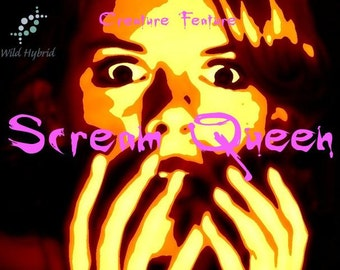 Creature Feature - Scream Queen Limited Edition - 5ml Whiskey fumes, french lilac, labdanum, dark patchouli and benzoin.