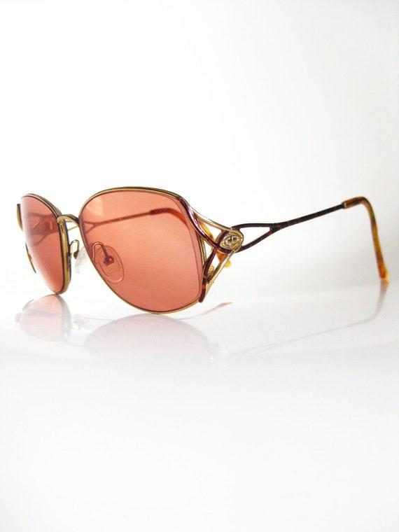 Vintage Dior Tortoiseshell 1970s Eyeglasses Womens Glasses
