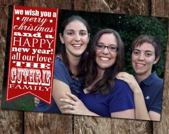 Photo Christmas Card