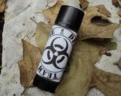 ZOMBIE lip balm, Zombie Defense Team Label, honey flavored - Walking Dead