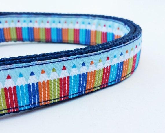 Artsy Fartsie - Dog Collar / Pet Accessories /  Handmade / Adjustable