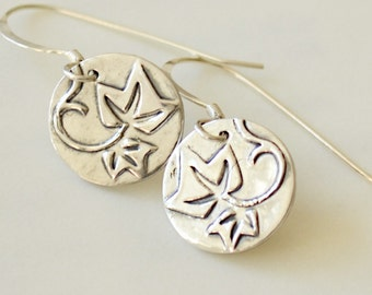 Your Faithfulness Earrings in Fine and Sterling Silver