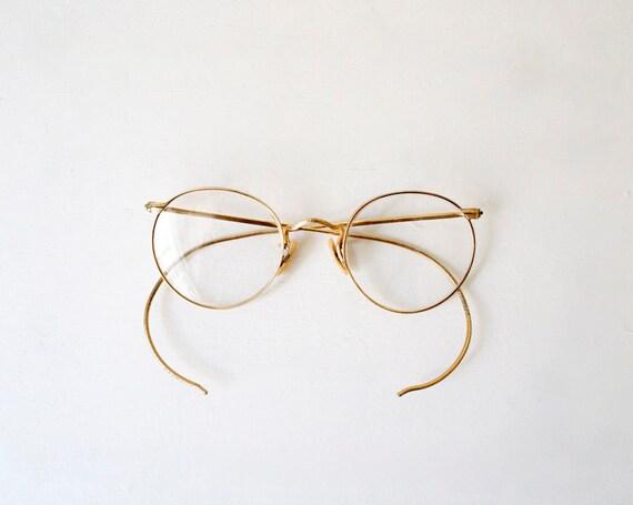 Vintage 1930's Bausch & Lomb Eyeglasses