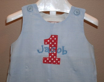 Birthday Shortall JonJon  Monogram Personalized