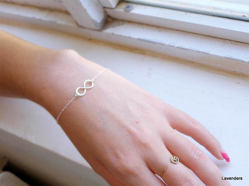Infinity Bracelet Sterling Silver uk