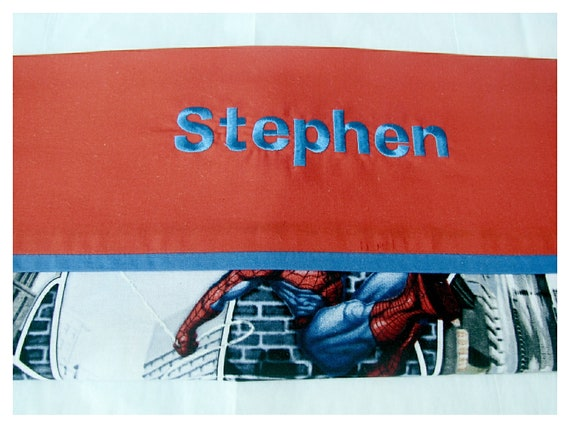 Personalized Spider-Man Spider Sense, Thomas Track Star, or Thomas and Friends Pillow Case