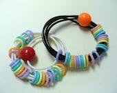Vintage Rubber Bracelets DEADSTOCK Set of 2