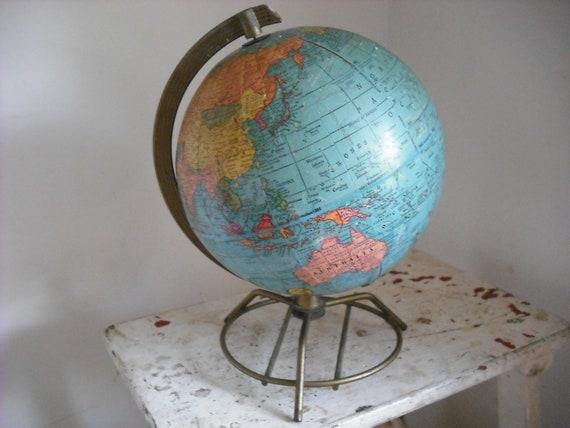 Vintage Globe Mid Century Modern