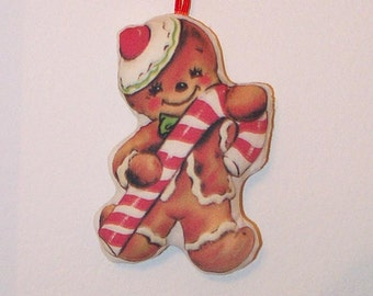 Gingerbread Ornament Vintage Style