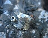 Tree Bark Ring Custom Listing for Smv5047