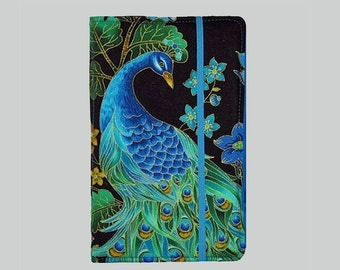 Kindle Voyage Case, Kindle Voyage Cover, Kindle Cover Hardcover, Kindle Case, Kindle Fire HD 6 7, Kindle Paperwhite, Nook GlowLight Peacock