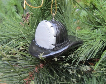 Personalized Christmas  Firehat Ornament
