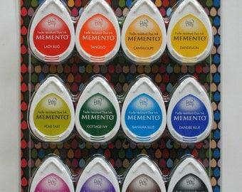Tsukineko Memento Dew Drops - Gum Drops Set of 12